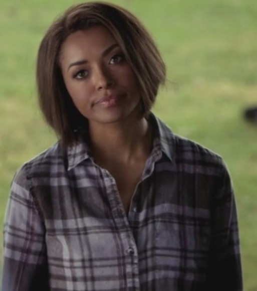 skinny jeans the vampire diaries wash jeans vampire diares bonnie bennet kat graham plaid shirt high rise jeans