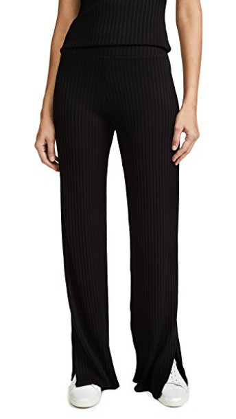The Range pants high waist pants high black