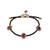 Embellished Leather Bracelet
