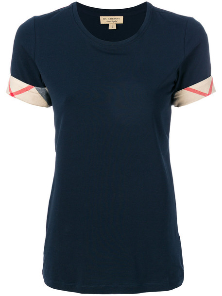t-shirt shirt t-shirt women spandex cotton blue top