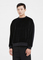 Haider ackermann black strozzi velvet top