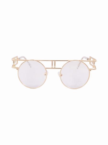 94204665f0984 Round Circle Clear Lens Vanilla Glasses