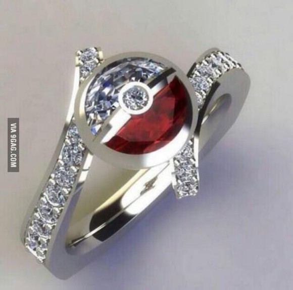 pokemon jewels pokeball ring