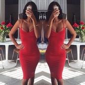 dress,red dress,sexy,body,cute,girl,style,fashion,sexy dress,sexy party dresses,spaghetti strap,spagetti straps,red,bodycon dress,bodycon,sleeveless,sleeveless dress,sleebeless,sleebell sleeves,summer,cute dress,trendsgal