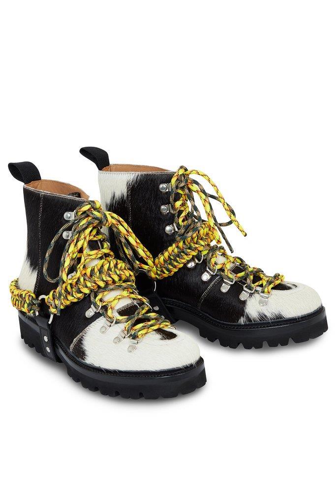 HOH x Grenson Black Cow Nanette Boot
