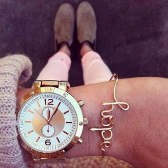 jewels watch bracelets jewelery gold day clock