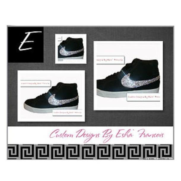 ... closeout shoes custom bling clear rhinestone nike blazer sb nike nike  blazer nike sb clear crystal 20dbfa55e