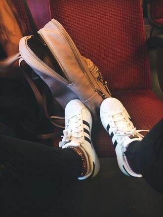 shoes adidas adidas shoes adidas superstars adidas originals sneakers causal shoes backpack