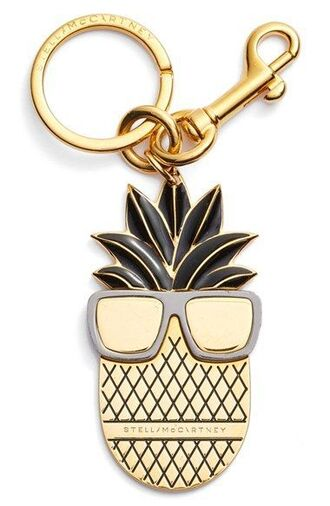 bag keychain bag charm charm gold fruits bag accessoires pineapple