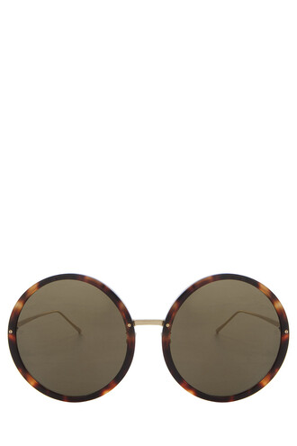 shell sunglasses round sunglasses tortoise shell brown