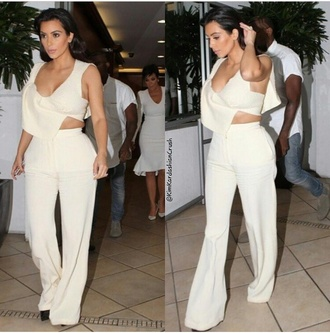 top wool blouse crop tops kim kardashian