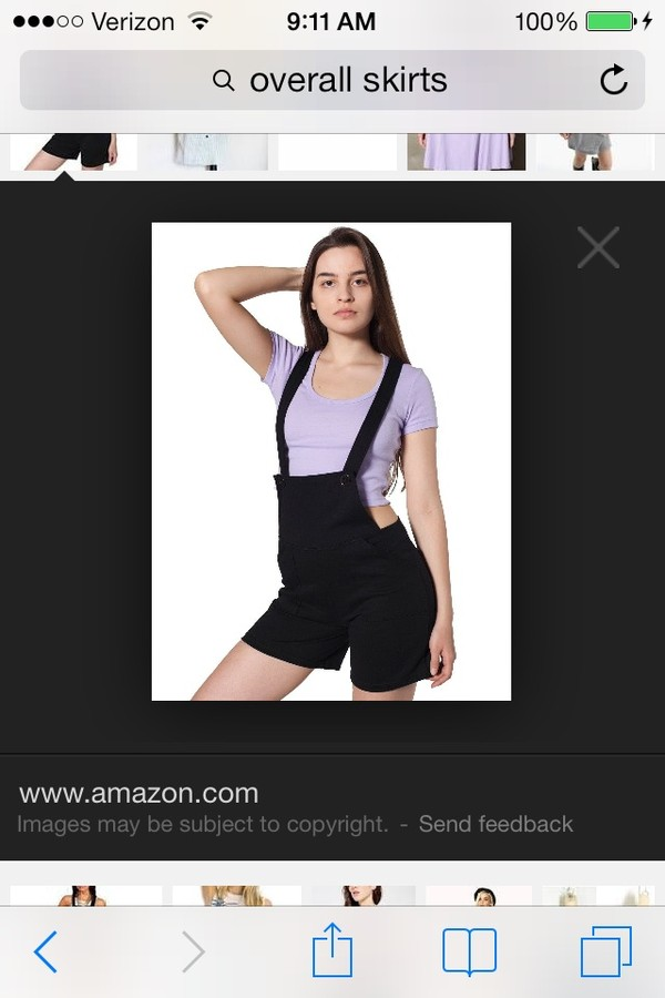 dress overalls black skirt