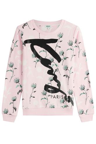 sweatshirt cotton rose sweater