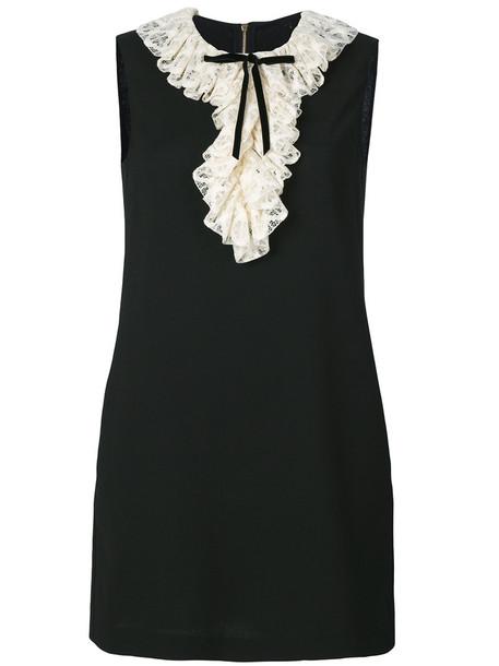 Philosophy di Lorenzo Serafini dress mini dress mini women black wool