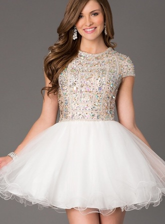 dress closed back dress closed back perfect sparkles sparkly dress sequins prom cheap dresses graduation dress fancy dress sleeves dress with sleeves white dress lovely please help find this beautiful dress my dream dress