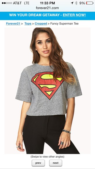 superman grey