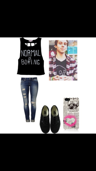 5 seconds of summer normalisboring laceback luke hemmings michaelclifford jeans phone cover