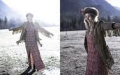 dress,holiday dress,beautiful,red dress,holidays,christmas,gorgeous,Stone Cold Fox,babe,slit skirt