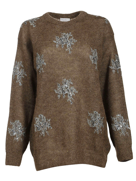 Brunello Cucinelli Sequin Sweater