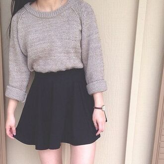 sweater grey sweater cute warm