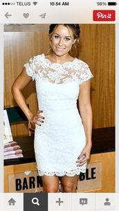 dress,wedding,courthouse wedding,courthouse wedding dress,short dress,white dress,wedding dress,lace dress,lace wedding dress,bodycon dress