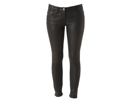 Tianne leather pants - slim leather pants - Black - Jeans & Pants - Women - IRO