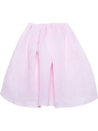 skirt a-line ribbed organza skirt carven