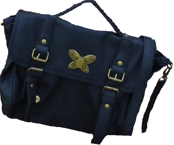 clasp bag butterfly black gold satchel strap buckles x store twenty one uk United Kingdom NinComPoop Youtube over the shoulder