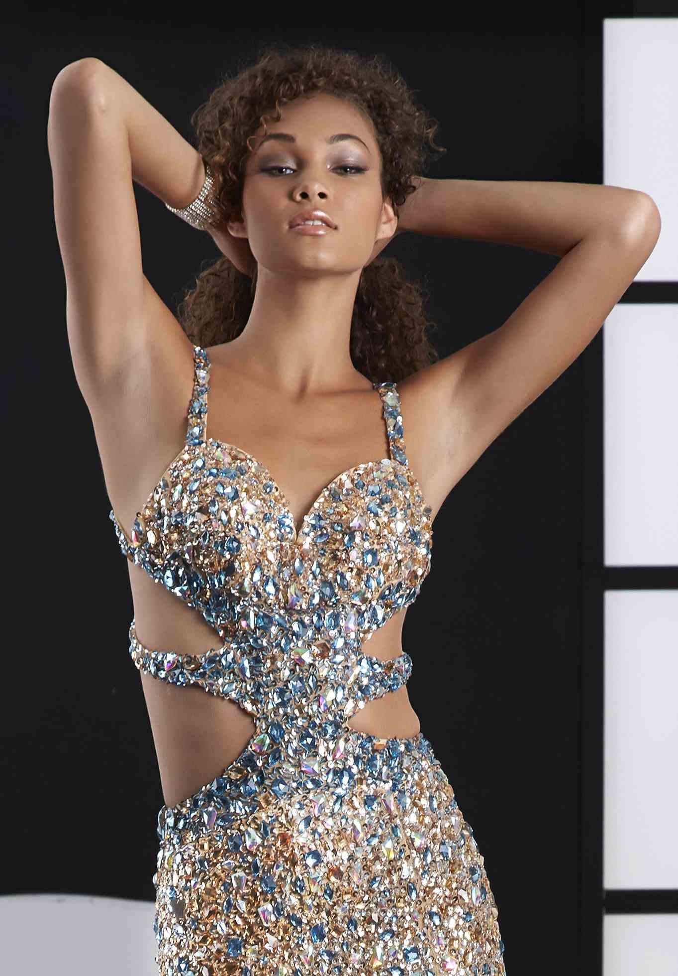 Jasz Couture Dresses 4109D at Peaches Boutique