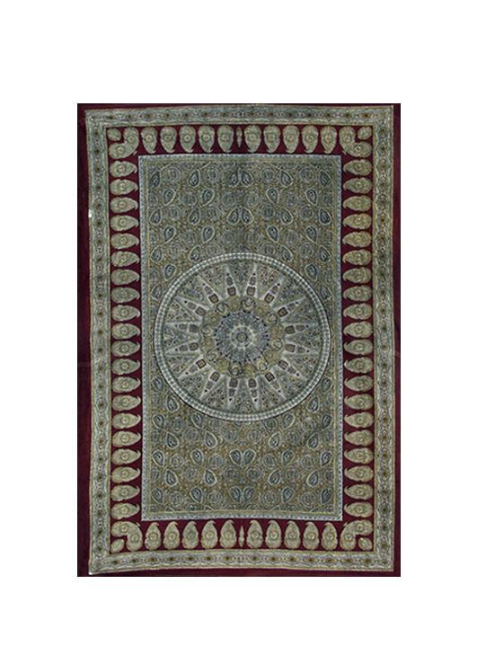 Paisley mandala tapestry