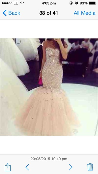 dress champagne nude colour prom dress