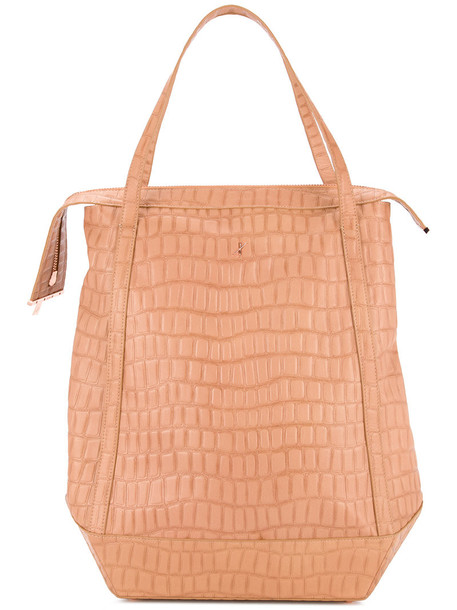 Ginger & Smart - Emmeline tote - women - Leather - One Size, Nude/Neutrals, Leather