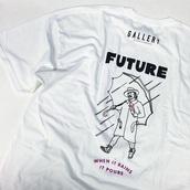 shirt,rapper,white,graphic tee,white t-shirt,future,graphic crop tops