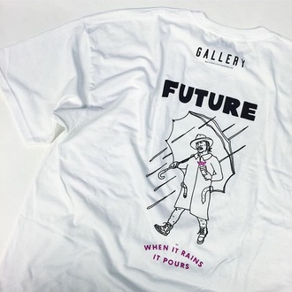 shirt rapper white graphic tee white t-shirt future graphic crop tops
