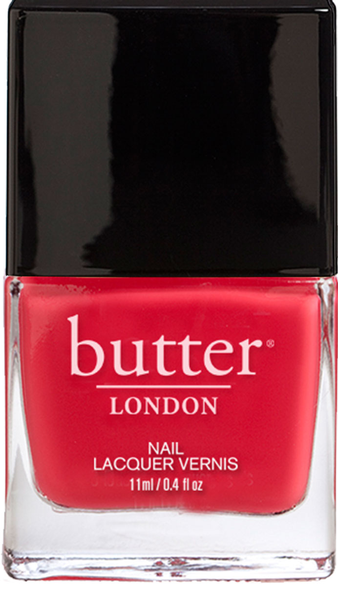 Macbeth : Bright Coral Nail Polish : butter LONDON