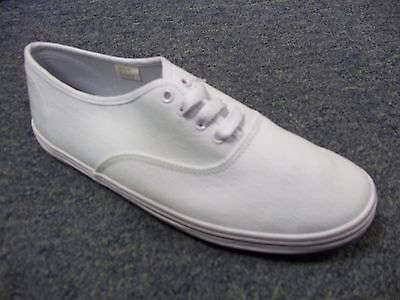 Ladies Fashion Canvas Pumps Sizes 3 4 5 6 7 8 White Mercury 07257 | eBay