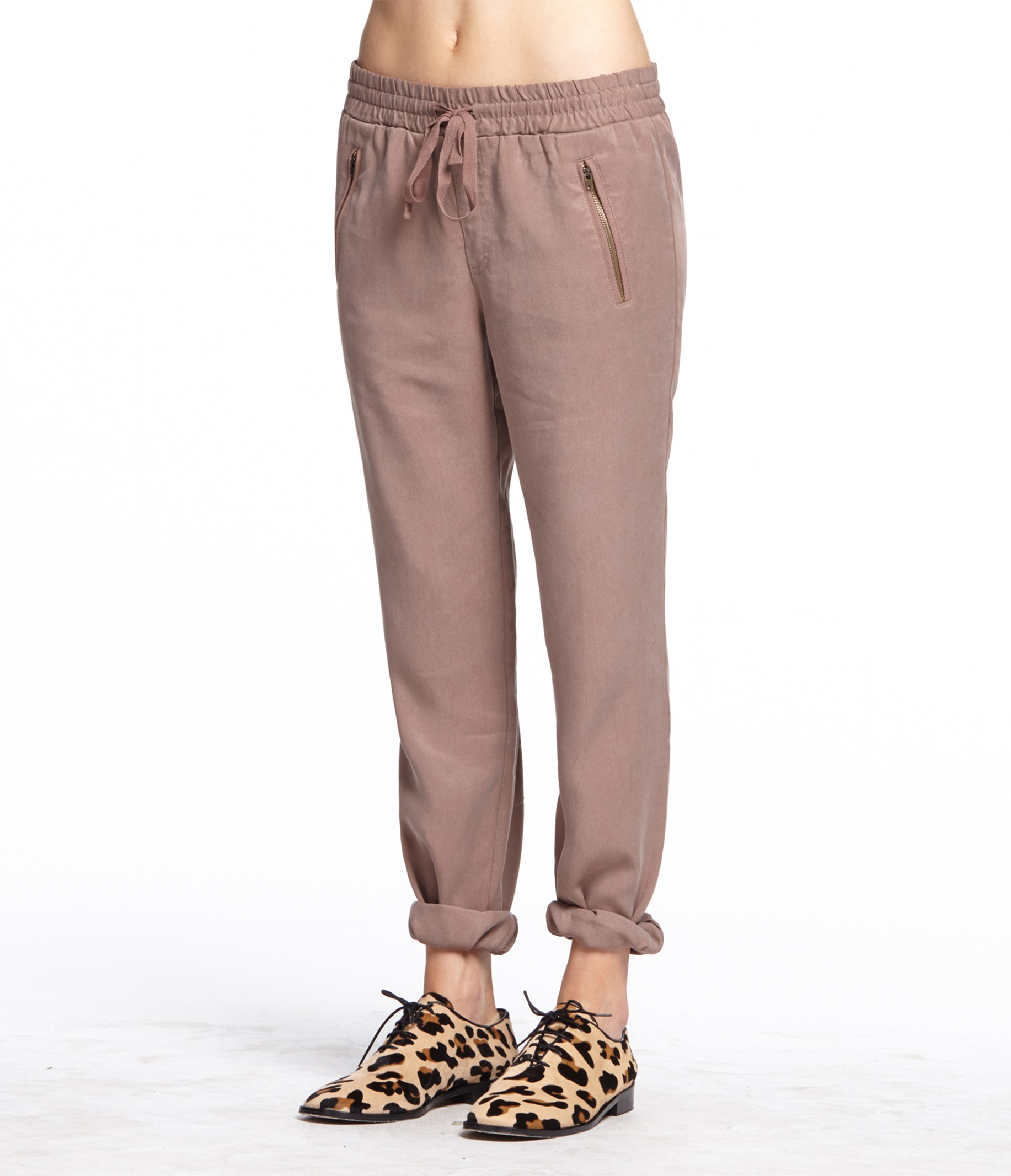 Lyocell Drawstring Pants