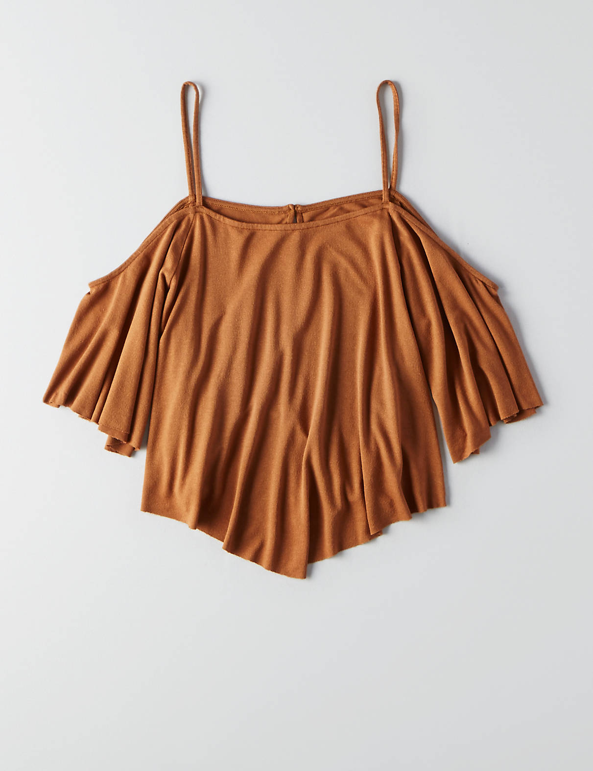 d8abf067e79cd1 AEO Soft   Sexy Cold Shoulder Swing Top