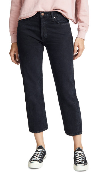 GOLDSIGN The Low Slung Jeans in black