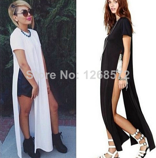 Hot!2014 new Womens Celebrity maxi casual shirt dress, Ladies patchwork sexy party bandage dress, swim wear long dress LQ9277 | Amazing Shoes UK