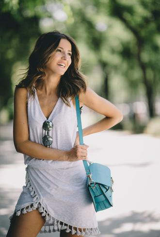 lovely pepa blogger dress bag shoes sunglasses