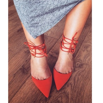 shoes red lace up sandal red high heels redheels high heels high heel sandals cute high heels fashion lace up sandles style