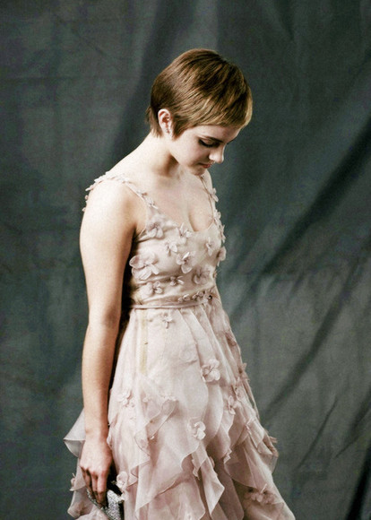 dress emma watson celebrity style cute dress