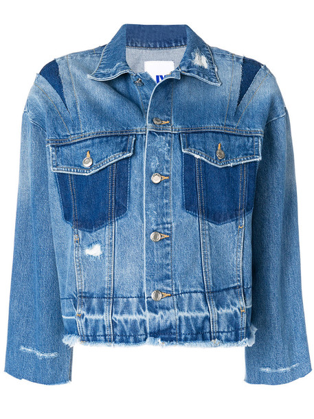 jacket denim jacket denim women cotton blue