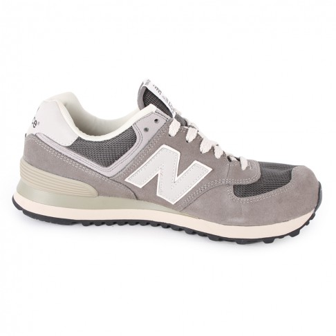 New balance 574 mens trainers in grey