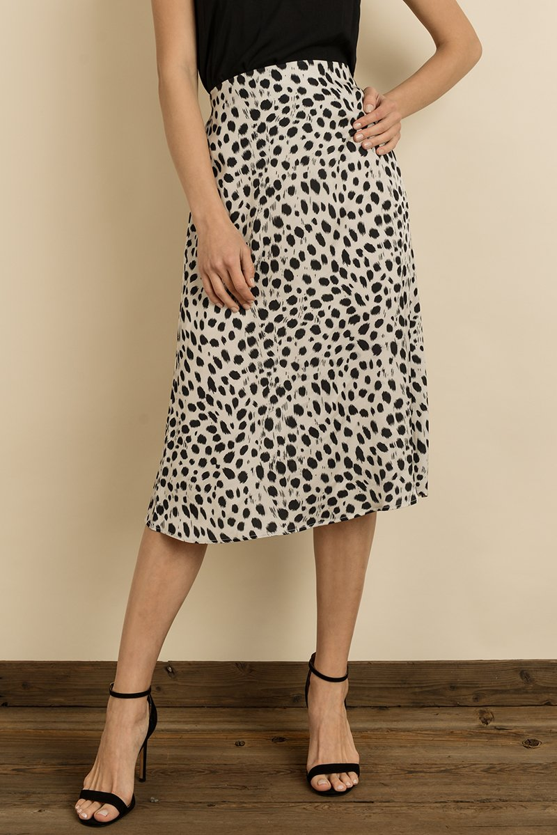 Knock Your Spots Off Cheetah Midi Skirt