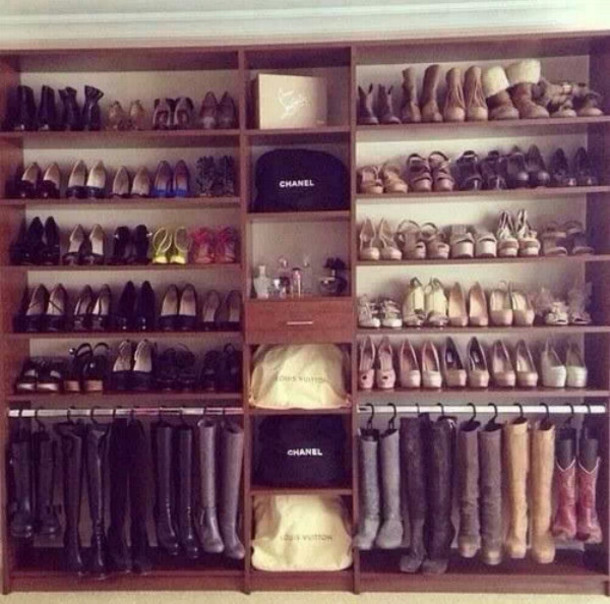 shoes i need this closest for my bedroom