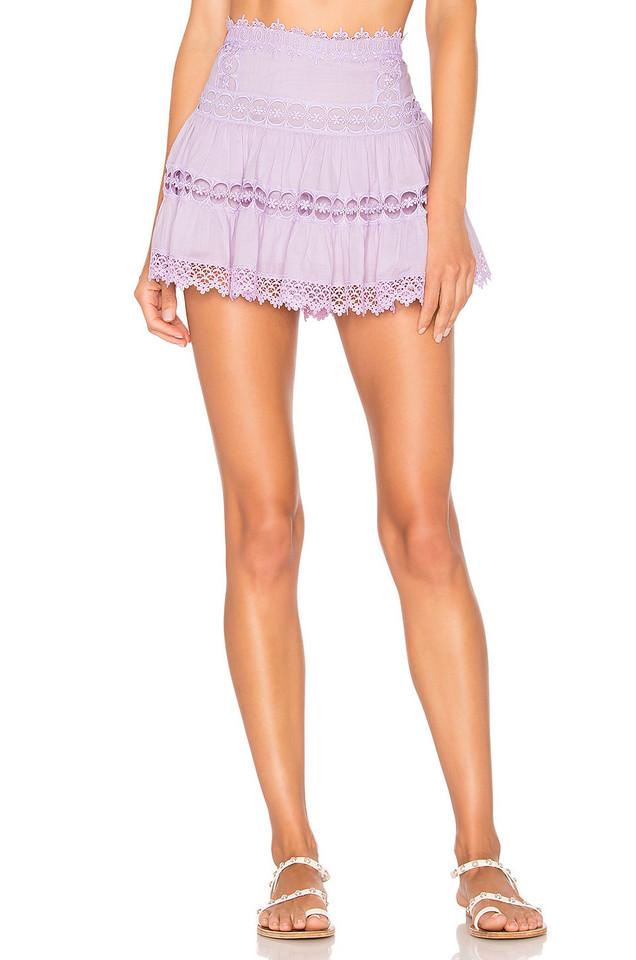 Charo Ruiz Ibiza Greta Skirt in lavender