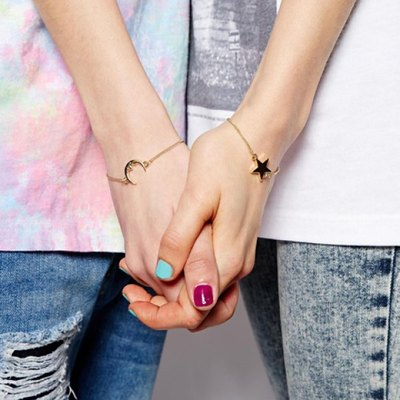 Star & moon bracelet set · nouveau craze · online store powered by storenvy