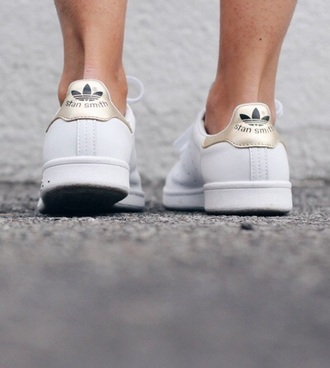 shoes adidas stan smith rose white black summer